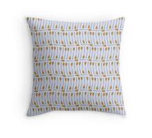Wooden spoon pattern  Throw Pillow