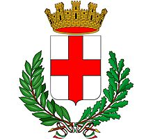 Coat of Arms of Milan  Photographic Print