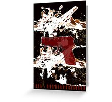 Who took my bullets? Greeting Card