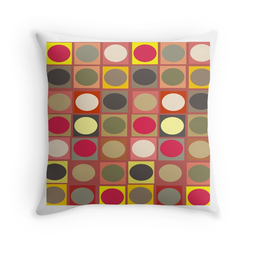 Vintage Inspired Throw Pillows :