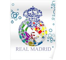 Tribute to Real Madrid Poster