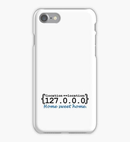 127.0.0.0 - Home sweet Home VRS2 iPhone Case/Skin