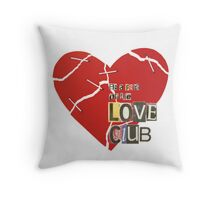 The Love Club Throw Pillow