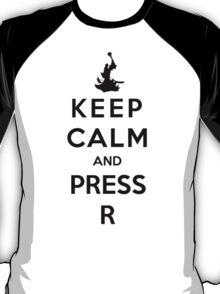 Keep Calm And Press R T-Shirt