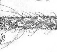 Zentangle®-Inspired Art - Tangled Alphabet - E Sticker