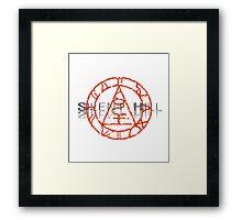Silent Hill: Seal of Metatron Framed Print