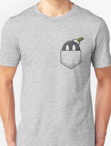 Grey Bob-omb Pocket T-Shirt