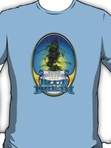 Blue Dream Marijuana strain Art T-Shirt