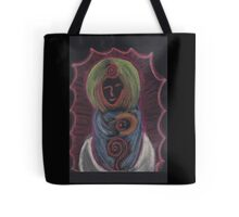 Goddess - Mary with child Tote Bag