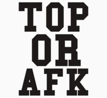 Top Or Afk Kids Clothes