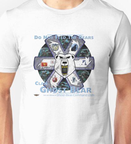 Clan Ghost Bear Recruitment Poster Q2.14 Unisex T-Shirt