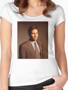 Fox Mulder Women's Fitted Scoop T-Shirt
