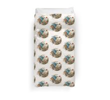 Wings of Courage Duvet Cover