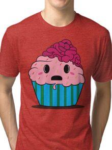 Cupcake brains Tri-blend T-Shirt