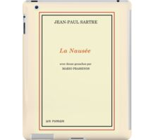 Nausea - Jean-Paul Sartre iPad Case/Skin