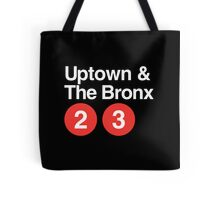 Uptown & The Bronx Tote Bag