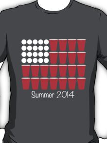 Beer Pong Summer 2014 T-Shirt
