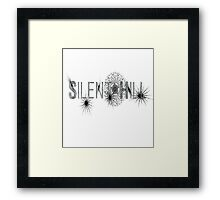 Simple Silent Hill Framed Print