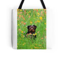 Overwhelming Cute Puppy Tote Bag