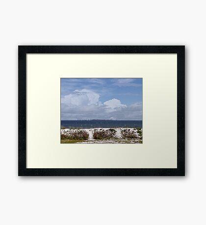 Gulf Coast Beauty Framed Print
