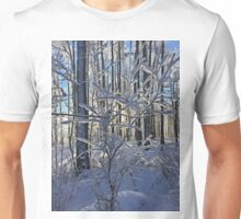 Frosty Branches  Unisex T-Shirt