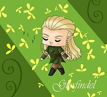 Chibi Glorfindel by artwaste