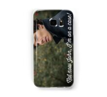 Not now John! Samsung Galaxy Case/Skin