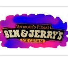 Ben and Jerrys Sticker