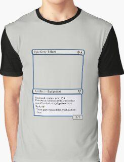 Magic The Gathering Epic Grey T-shirt Graphic T-Shirt