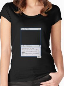 Magic The Gathering Epic Grey T-shirt Women's Fitted Scoop T-Shirt