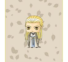 Chibi Celeborn by artwaste
