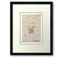 Chibi Celeborn Framed Print