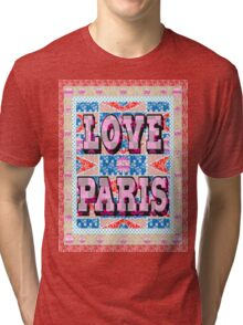 Fashion Country style patchwork gifts. Tri-blend T-Shirt