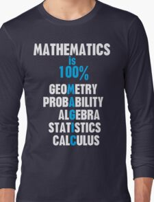 Mathematics Long Sleeve T-Shirt