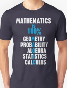 Mathematics Unisex T-Shirt