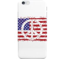 American Peace iPhone Case/Skin