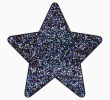 Mosaic Sparkley Texture One Piece - Short Sleeve