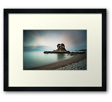 Bouley Bay Jersey by Gary Stringfellow Framed Print