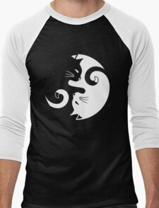Yin Yang Cats Men's Baseball ¾ T-Shirt
