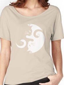 Yin Yang Cats Women's Relaxed Fit T-Shirt