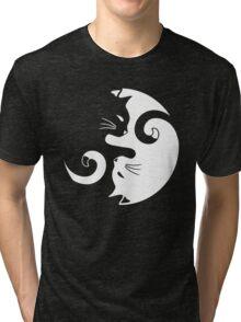 Yin Yang Cats Tri-blend T-Shirt