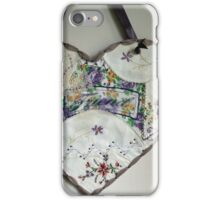 Crazy Quilt Heart With Embroidery Stitches For Friend iPhone Case/Skin