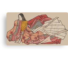 Murasaki Shikibu - author of The Tale of Genji Canvas Print