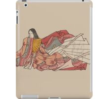 Murasaki Shikibu - author of The Tale of Genji iPad Case/Skin