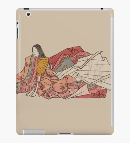 Murasaki Shikibu - author of The Tale of Genji iPad Case/Skin