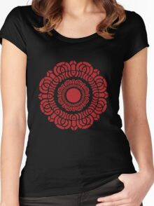 Legend of Korra - Red Lotus Women's Fitted Scoop T-Shirt