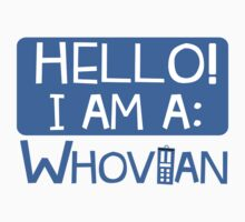 Doctor Who I'm A Whovian T-Shirt Design Proud Nerd Apparel by krochelle