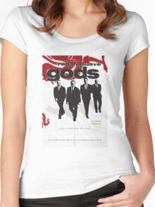 Red and Suave Gods- Bill Shankly, Bob Paisley, Joe Fagan & Ronnie Moran Women's Fitted Scoop T-Shirt