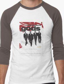 Red and Suave Gods- Bill Shankly, Bob Paisley, Joe Fagan & Ronnie Moran Men's Baseball ¾ T-Shirt