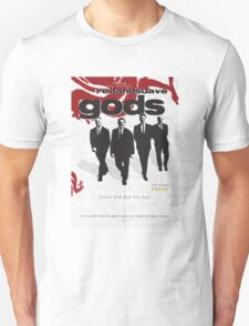 Red and Suave Gods- Bill Shankly, Bob Paisley, Joe Fagan & Ronnie Moran Unisex T-Shirt